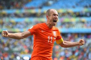 Arjen Robben for Holland