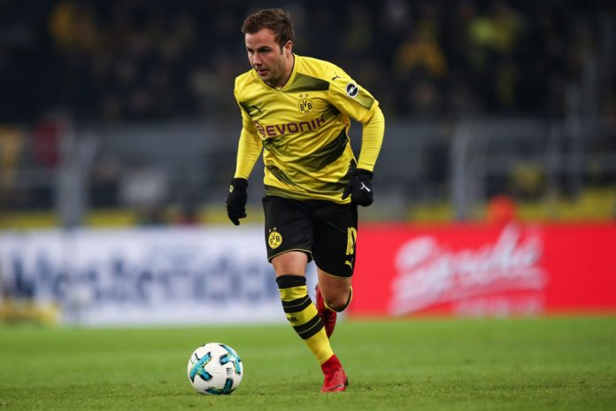 Mario Götze for Dortmund