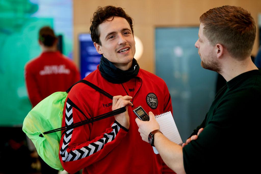 Denmark Press Conference - Football