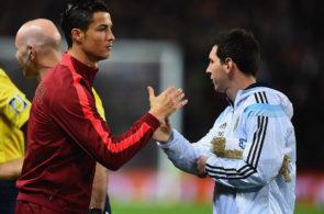 Lionel Messi og Cristiano Ronaldo