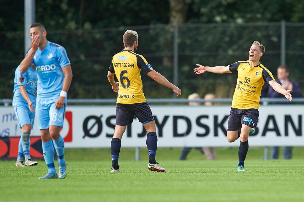 Hobro IK v Randers FC - Danish Alka Superliga,