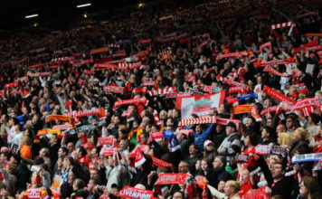 Anfield Memorial For The 20th Anniversary Of The Hillsborough Tragedy image