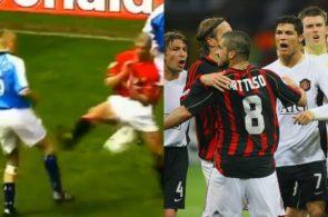 Roy Keane og Gennaro Gattuso