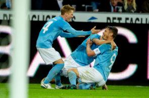FC Midtjylland vs Malmo FF - UEFA Europa League Playoff
