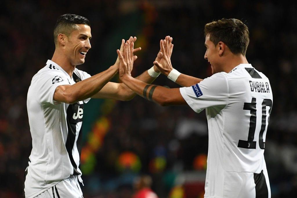 Cristiano Ronaldo og Paulo Dybala, Juventus
