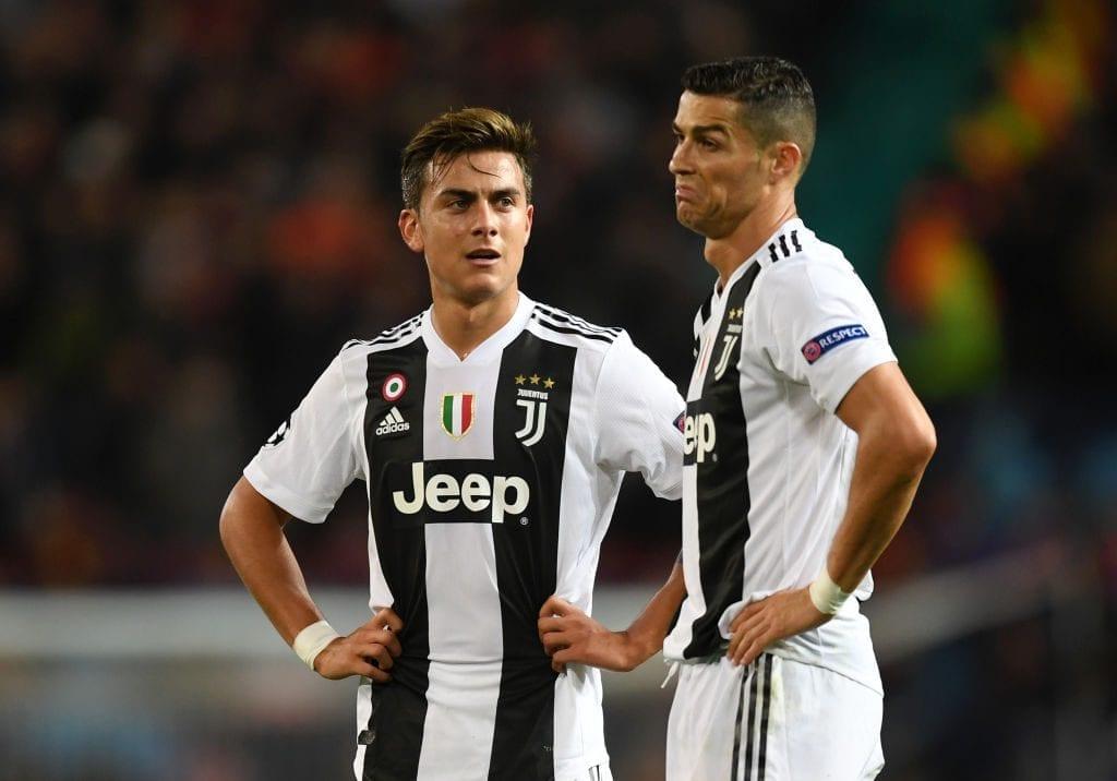 Dybala, Ronaldo, Juventus