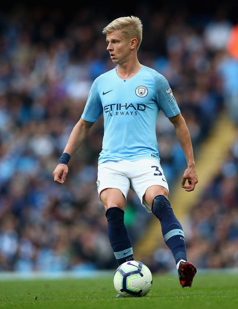 Oleksandr Zinchenko, Manchester City