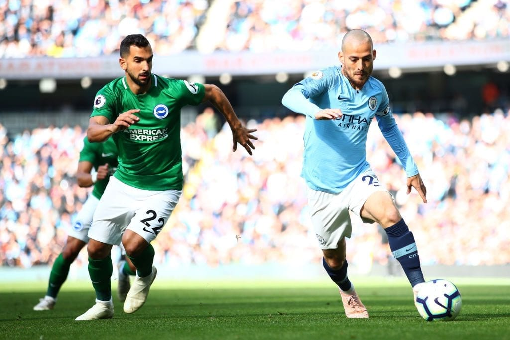 Manchester City v Brighton & Hove Albion - Premier League
