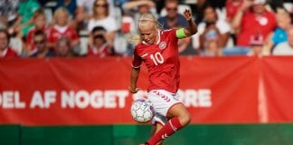 Denmark vs Sweden - FIFA Womens World Cup Qualifier