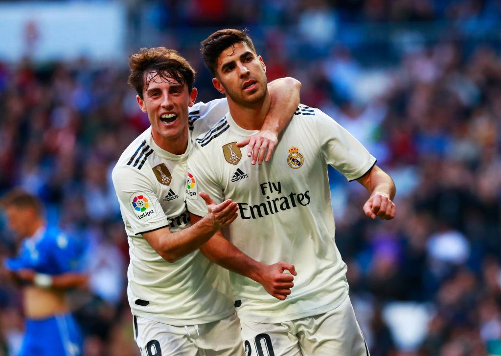 Odriozola, Real Madrid