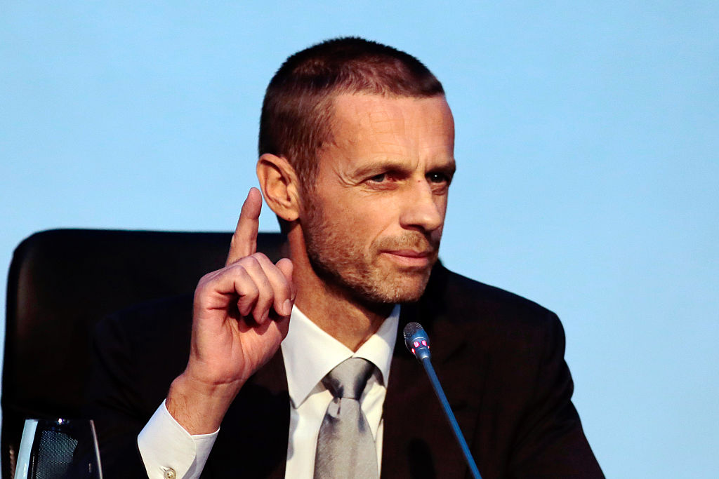 Aleksander Ceferin, UEFA