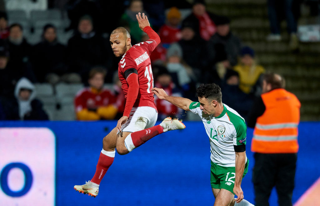 Denmark vs Ireland - UEFA Nations League