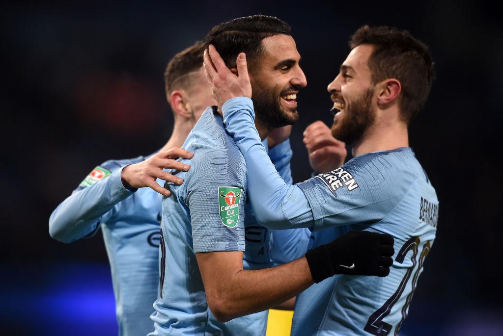 Manchester City v Burton Albion - Carabao Cup Semi Final: First Leg