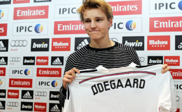 Martin Odegaard Officially Unveiled At Real Madrid image