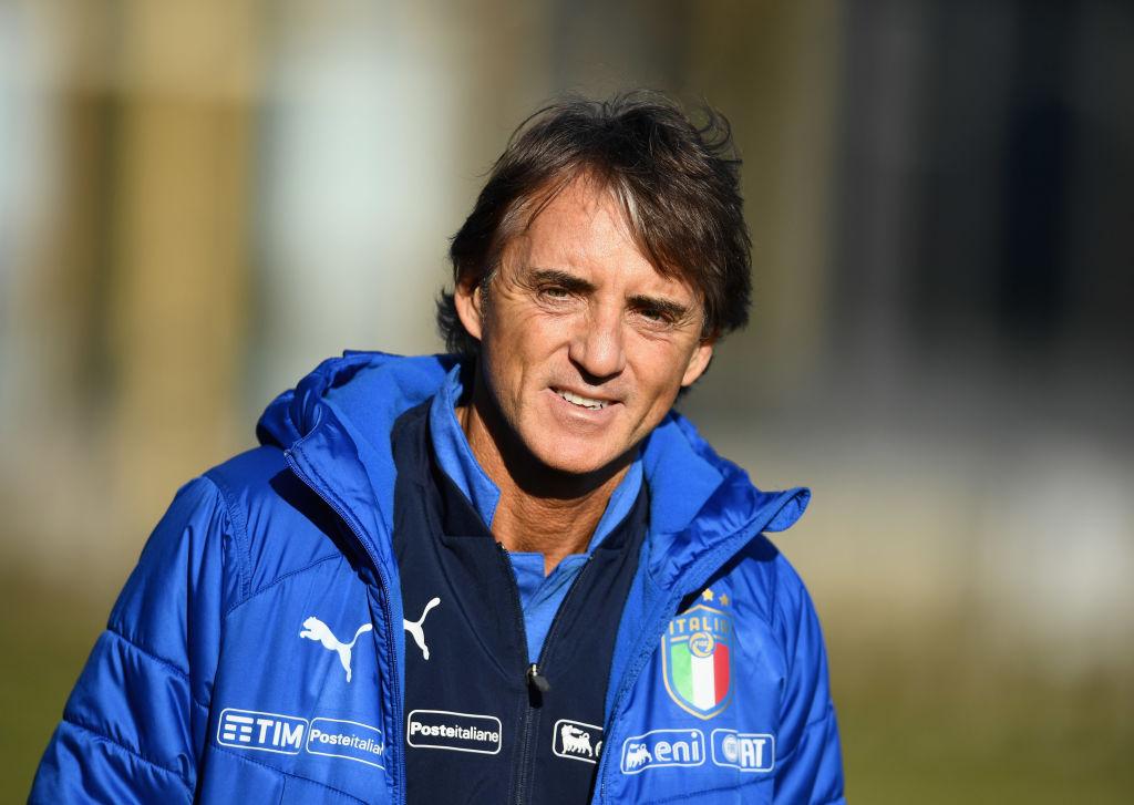 Robert Mancini, Italien