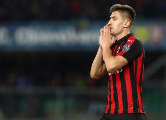 Krzysztof Piatek, AC Milan