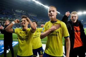 Brondby IF vs AaB Aalborg - Danish Sydbank Pokalen Cup Semifinal