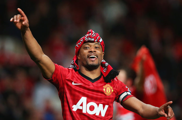 Patrice Evra for Manchester United