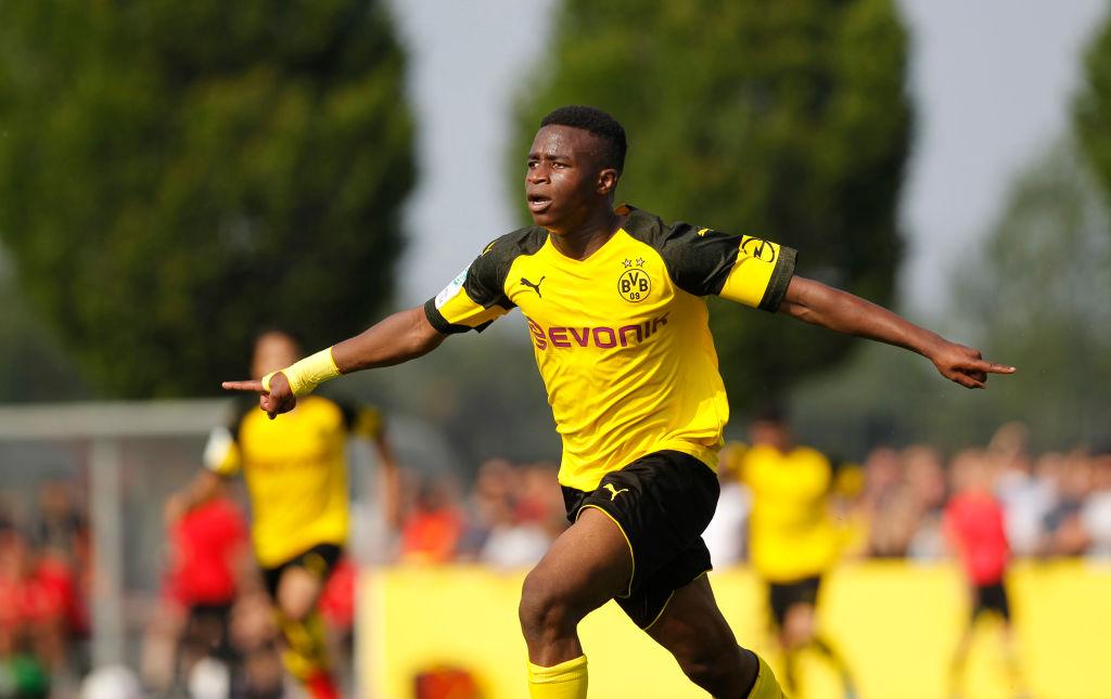 Borussia Dortmund U17 v Bayer Leverkusen U17 - B Juniors German Championship Semi Final Leg Two