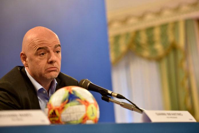 Gianni Infantino, FIFA