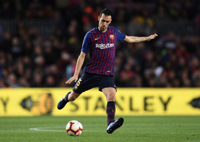 Sergio Busquets for Barcelona