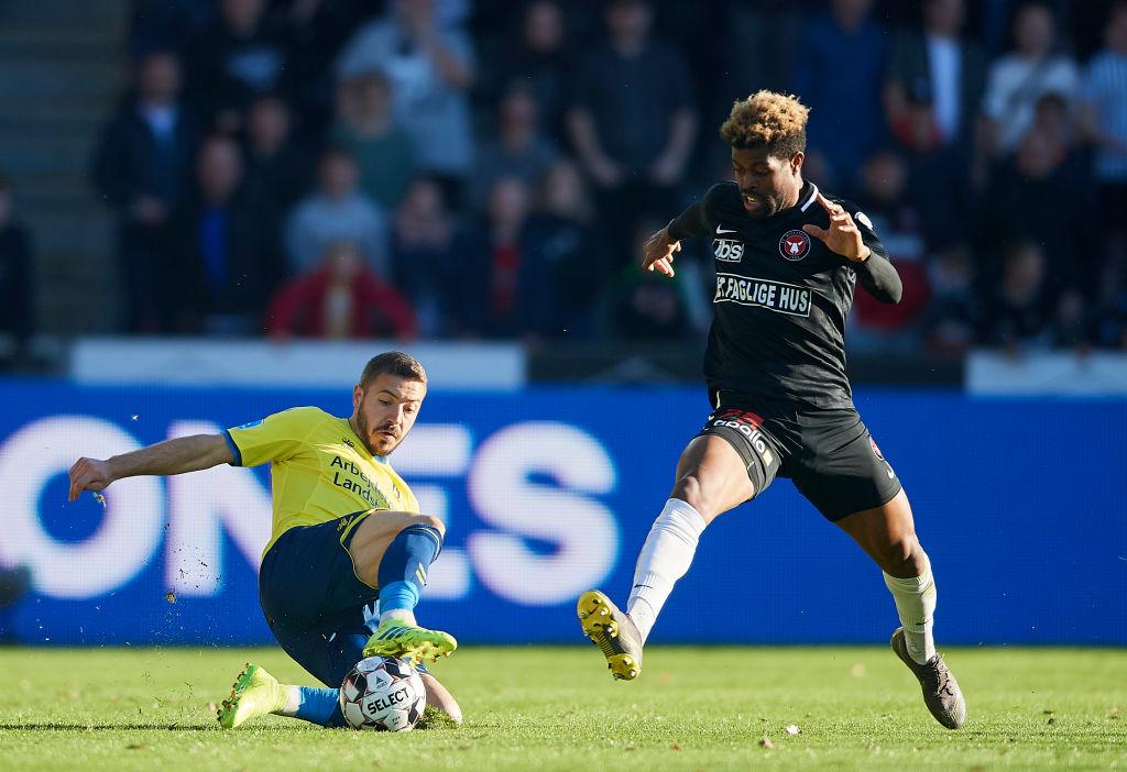 Manjrekar James for FC Midtjylland