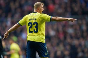 Brondby IF and FC Midtjylland - Danish Cup Final Sydbank Pokalen