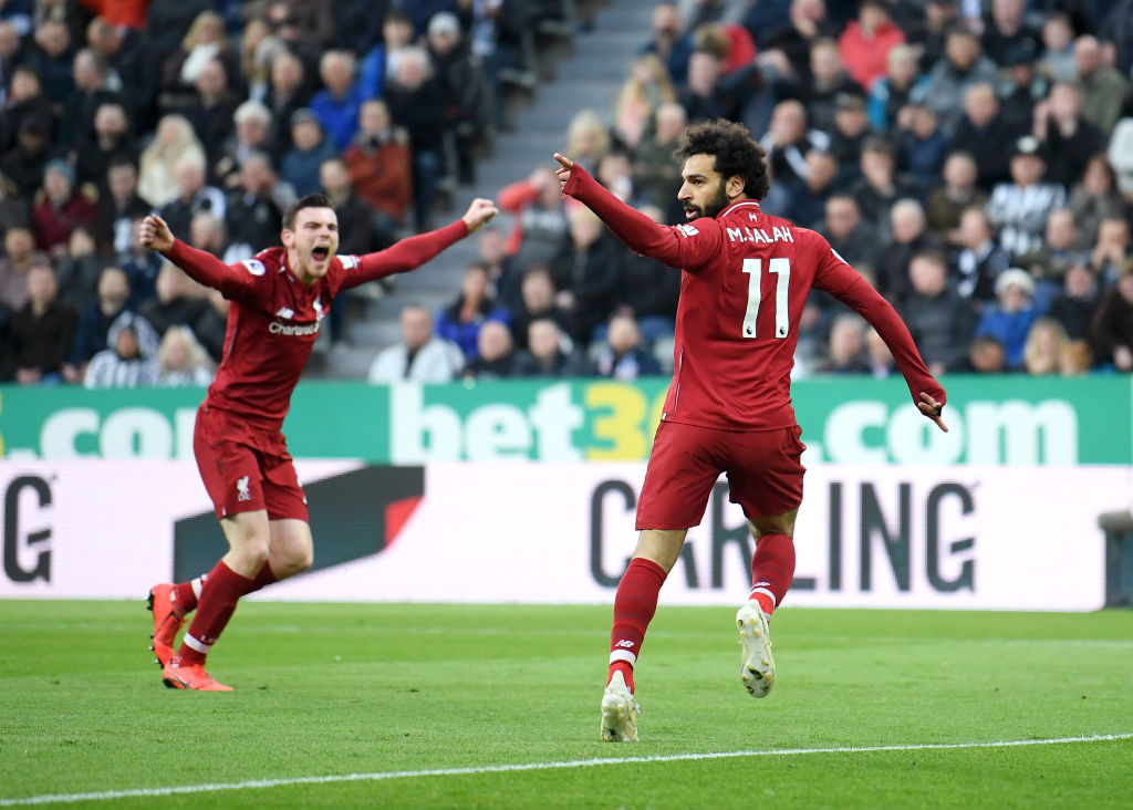 Mohamed Salah, Andrew Robertson