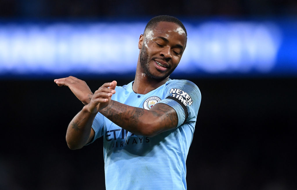 Raheem Sterling for Manchester City