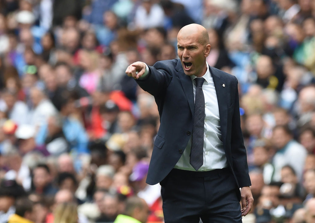 Zinedine Zidane for Real Madrid