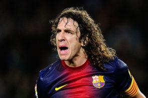 Carles Puyol for Barcelona