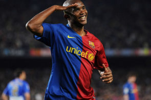 Samuel Eto'o for Barcelona