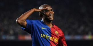 Samuel Eto'o for Barcelona