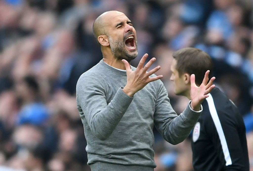 Pep Guardiola for Manchester City