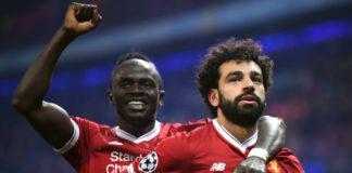 Sadio Mané og Mohamed Salah, Liverpool FC