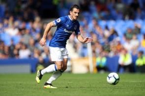 Leighton Baines fra Everton