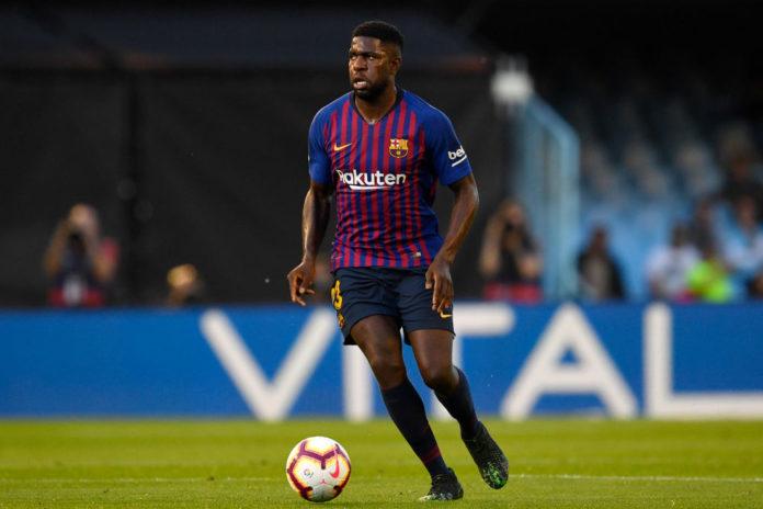Samuel Umtiti for Barcelona