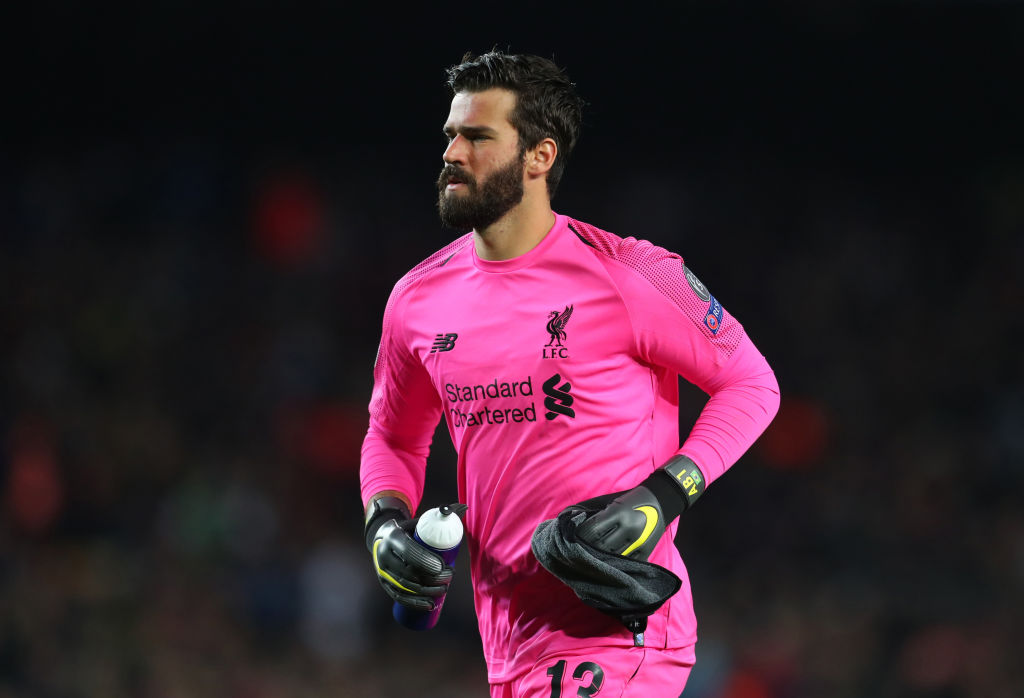Alisson for Liverpool
