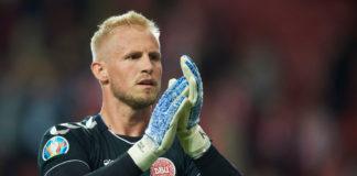 Kasper Schmeichel for Danmark