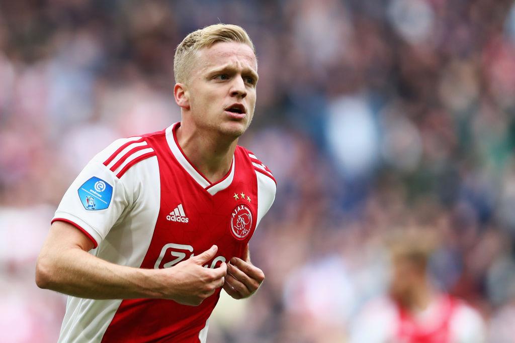 Donny van de Beek for Ajax