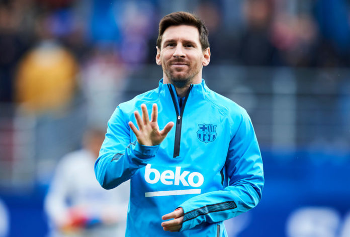 Lionel Messi for Barcelona