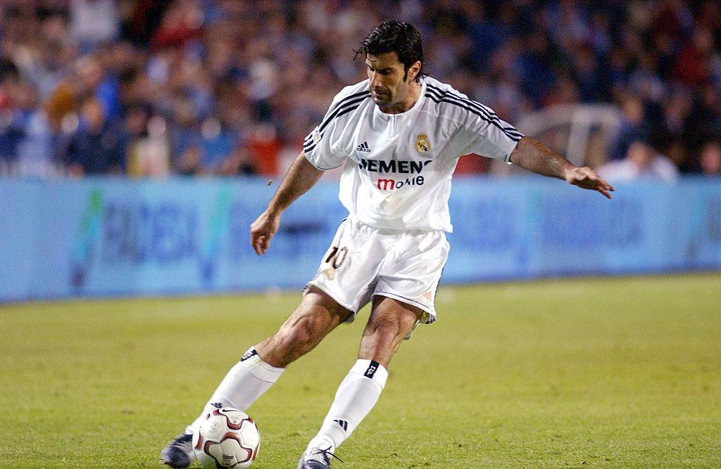 Luis Figo for Real Madrid