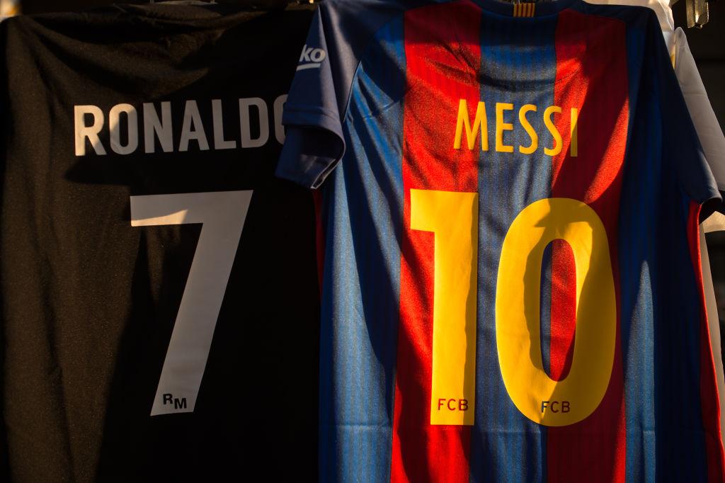 Ronaldo og Messi