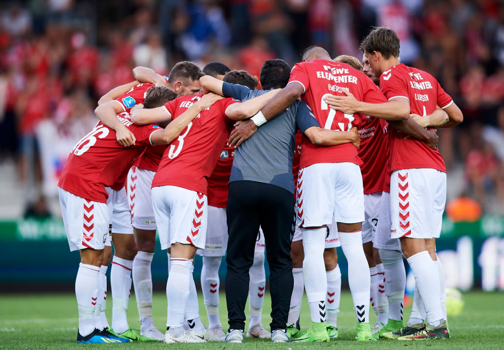Vejle Boldklub vs FC Midtjylland - Danish Superliga