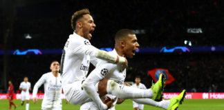 Neymar, Mbappé, PSG