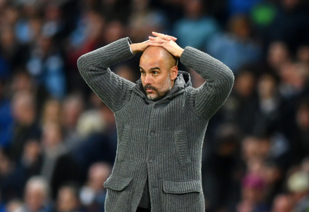Pep Guardiola fra Manchester City