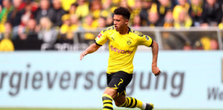 Jadon Sancho for Dortmund