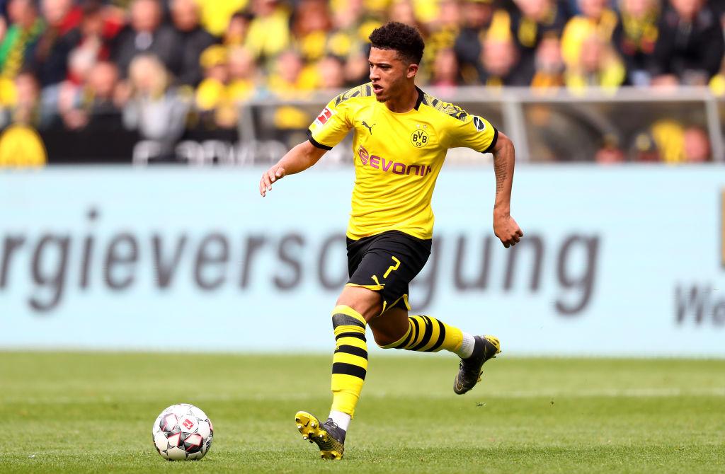 Jadon Sancho for Dortmund