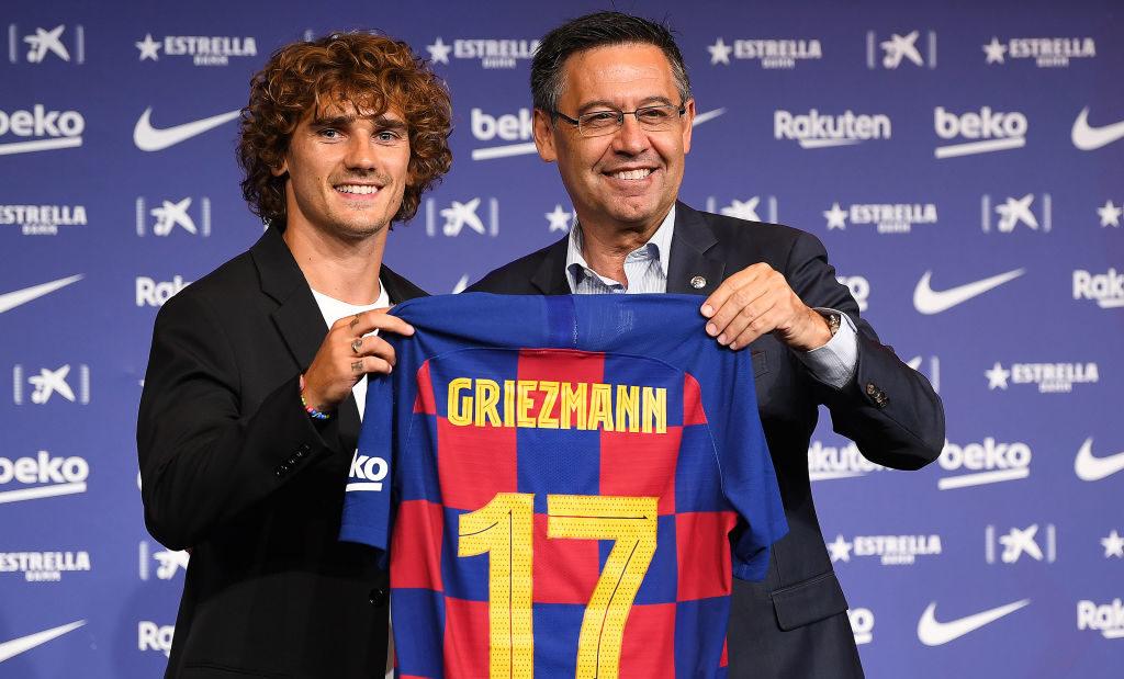 Antoine Griezmann i Barcelona
