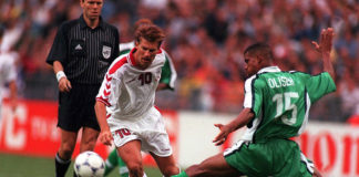 Michael Laudrup for Danmark